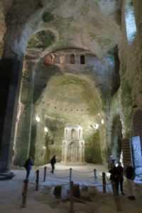 aubeterre underground church 2
