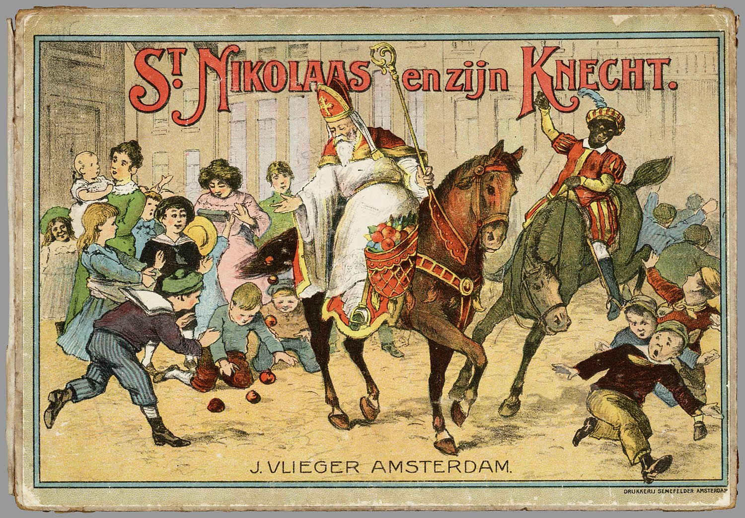 Image result for Sinterklaas and Black Peter