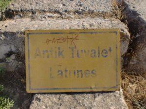 salamis latrines