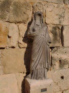 salamis statue of persephone