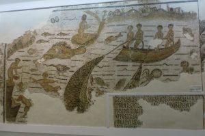 mosaic lake bizerte - lac de bizerte