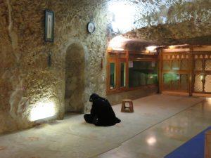 Abraham's cave