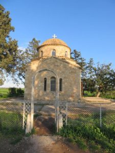 small Greek-Cypriot chapel
