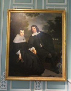 van der helst painting of young gentleman and woman