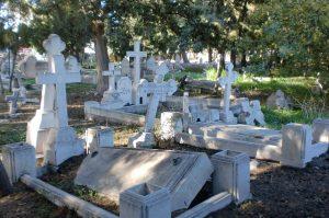 graveyard symbol ethnic conflict